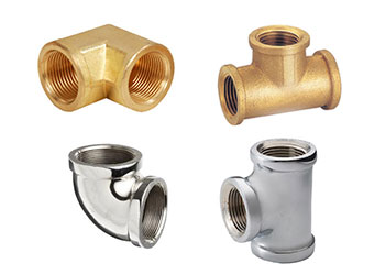 Brass & Chrome pipe fittings